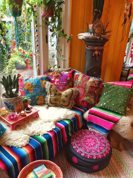 Boho Style From Amsterdam Hippie House Boho Room