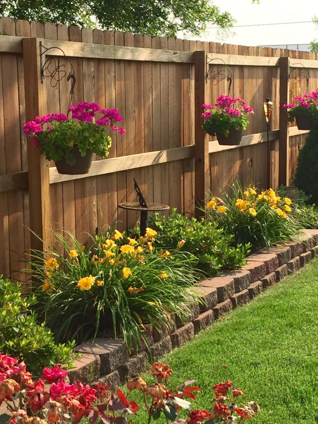 Bring The Flowers High With Hanging Baskets Backyard