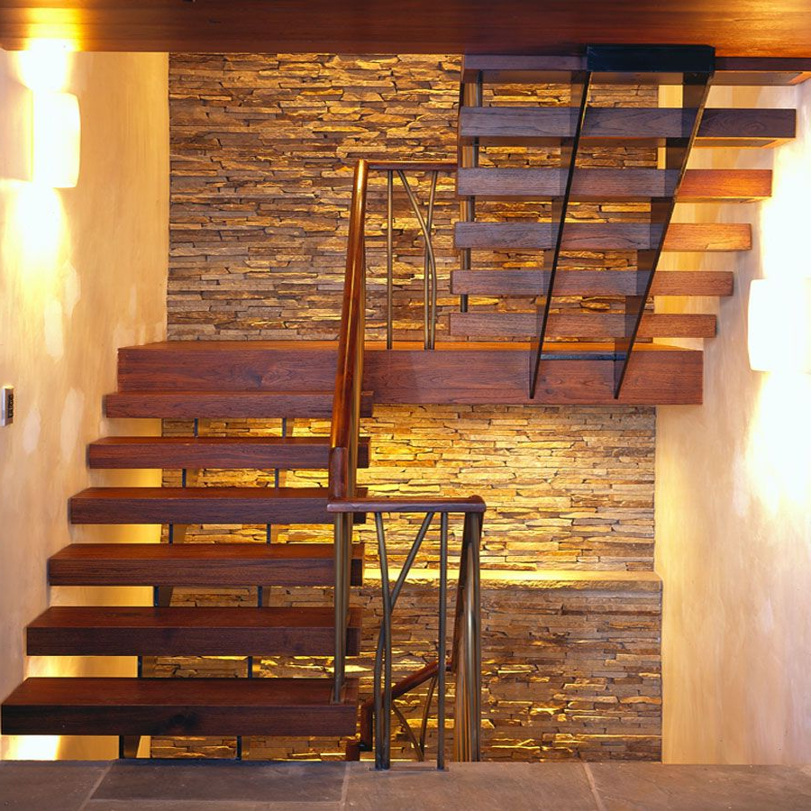 Cambridge House Ruhl Walker Architects Stairs Design