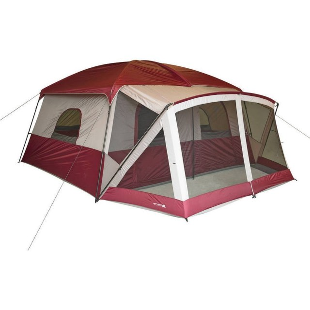 Camping Cabin Tent With Screen Porch 12 Person Outdoor