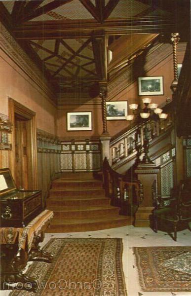 Ch 16 Aesthetic Movement Mark Twain House Stair Hall