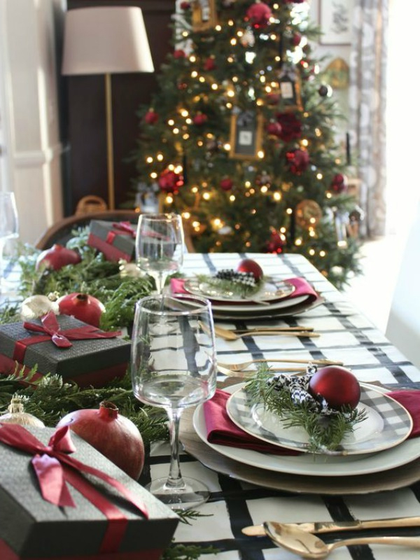 Christmas Tablescapes Party Ideas House Of Hargrove