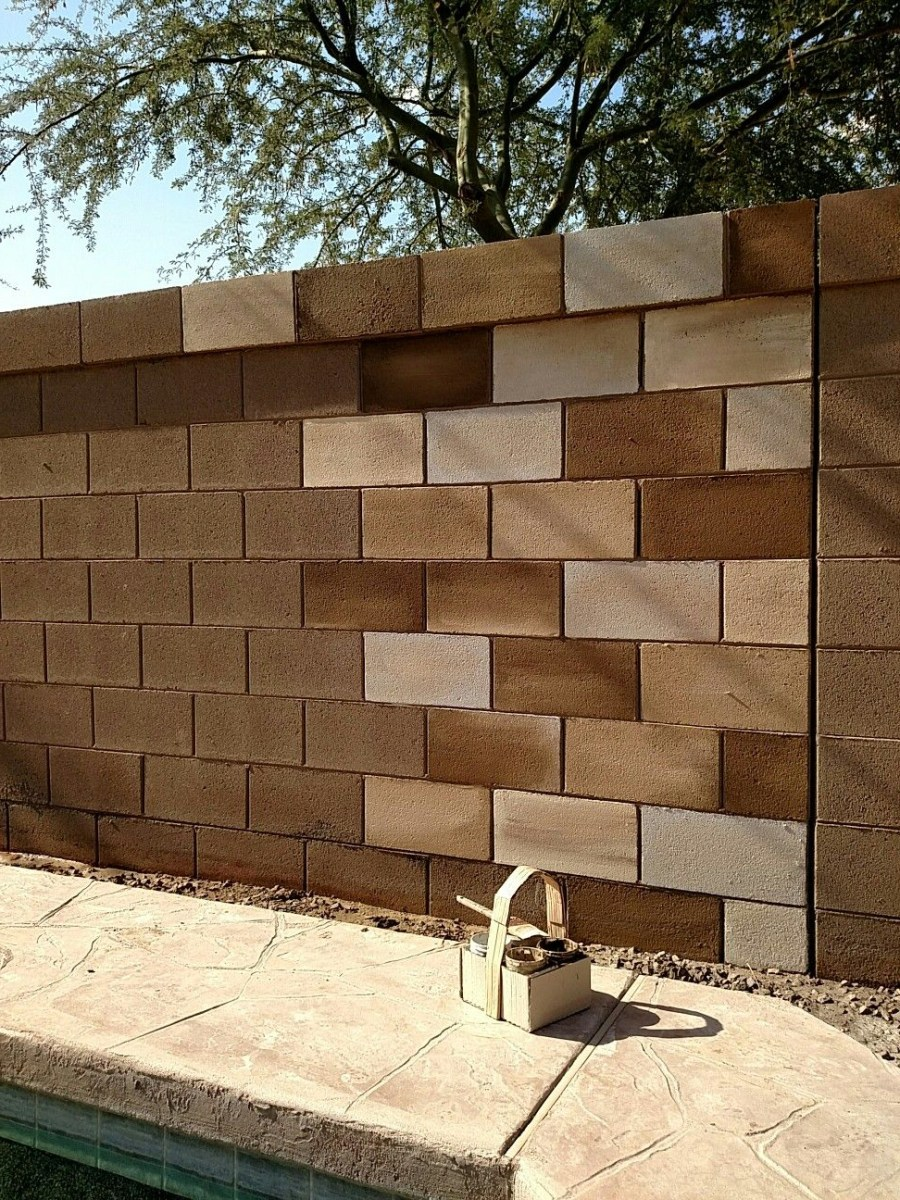 Cinder Hollow Block Wall Decorating Cinder Block Walls