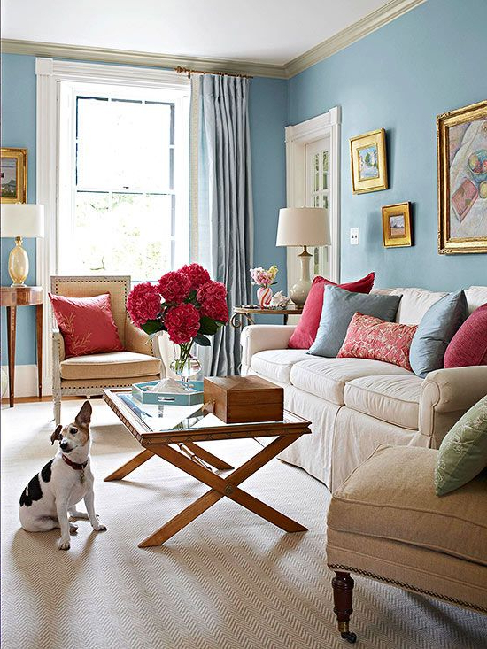 Color Combos Using Blue Room Decor Room Colors Room