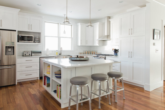 Contemporary Details Transitional Kitchen Boston