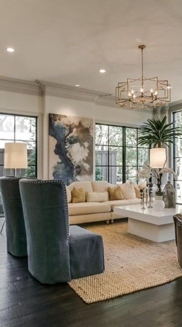 Contemporary Living Room Wineglasswriter Modern