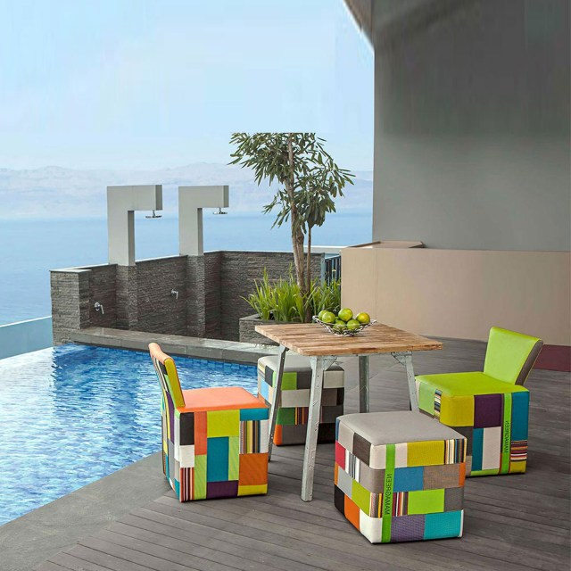 Contemporary Outdoor Furniture As A Companion To Nature