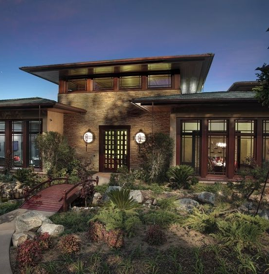 Contemporary Prairie Style House Plans Home Ideas Design