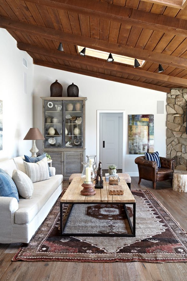 Contemporary Ranch House Evoking A Warm Rustic Feel In