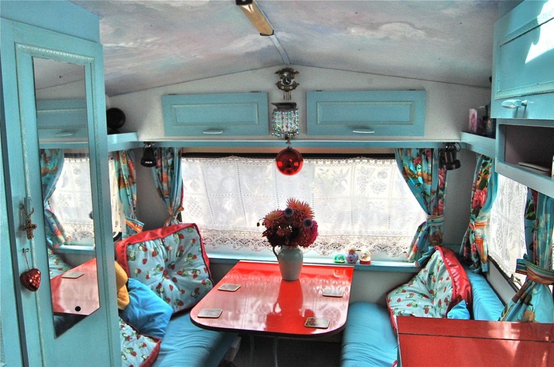 Cool Travel Trailer Interiors Cool Rv Interiors Great