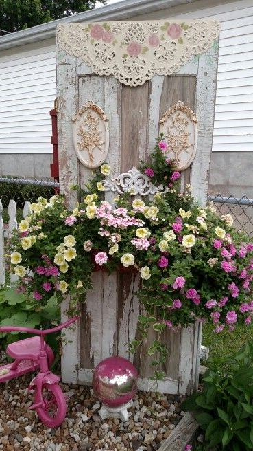 Cottage Yard Decor Shab Chic Garden Idea Vintage