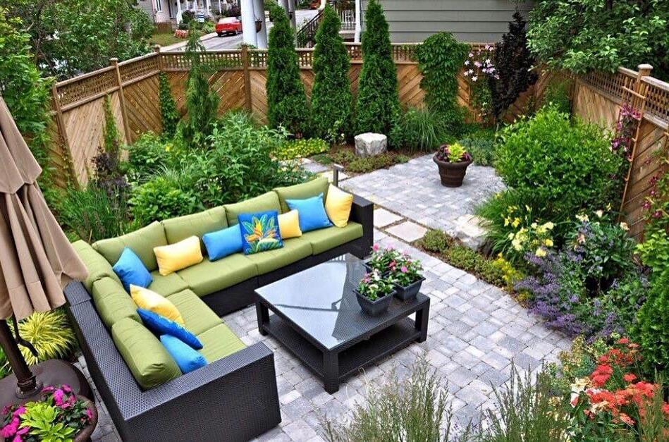 Cozy Backyard Small Backyard Design Backyard Design
