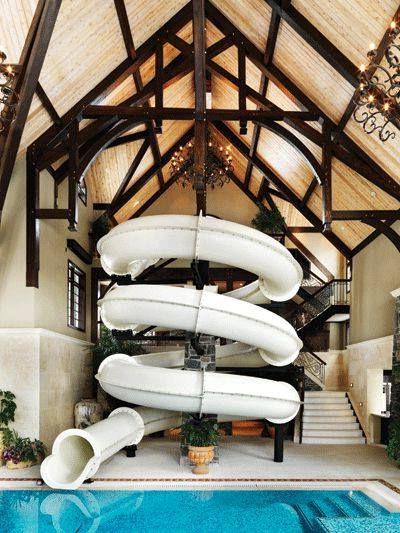 Crazy Pool Slide Amazing Swimming Pools Dream Pools