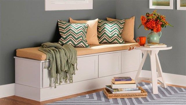 Create A Cozy Retreat In The Corner Of A Bedroom Or Along The Wall Of A Family Room With Problem