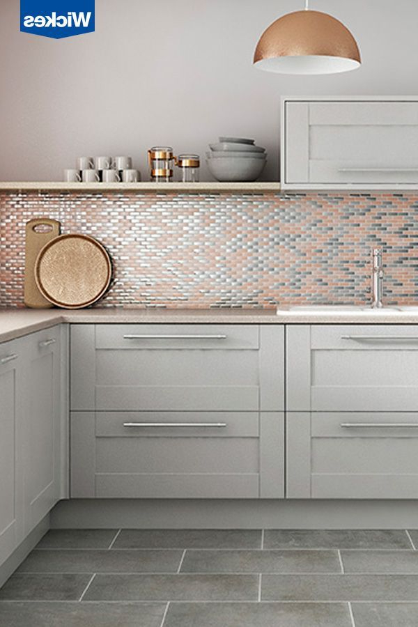 Create A Uniquely Stylish Kitchen Combining Soft Grey