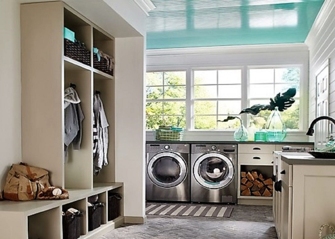 Create Feng Shui In Your Laundry Room