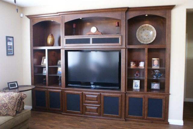 Custom Tv Stand Platinum Cabinetry In Las Vegas Nevada