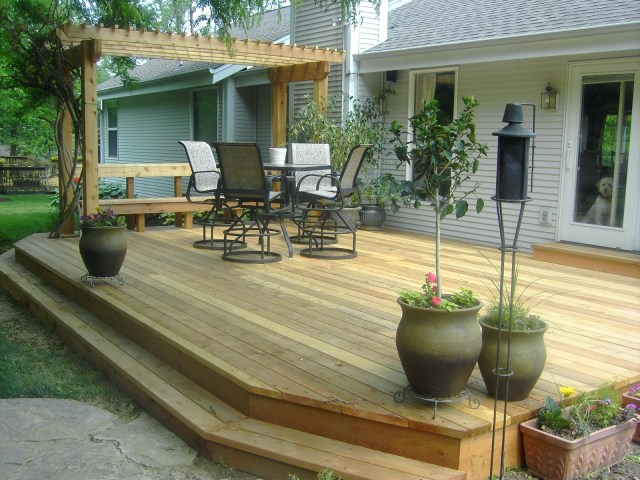 Decking Terrific Covered Deck Plans For Outdoor Design