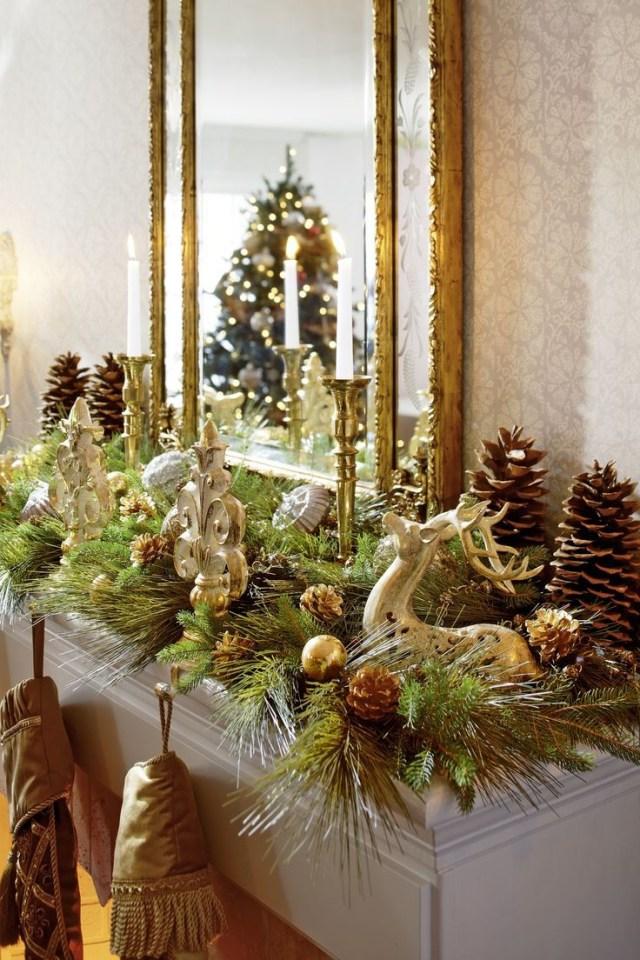 Decorating Holiday Mantels Fireplace Mantel Christmas