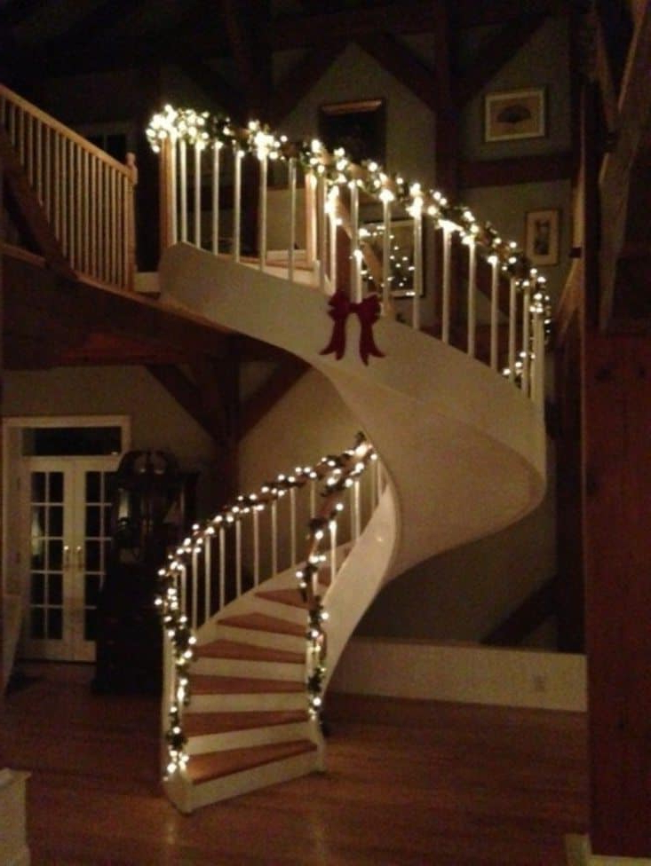 Decorating Ideas Around Spiral Staircases Wearefound