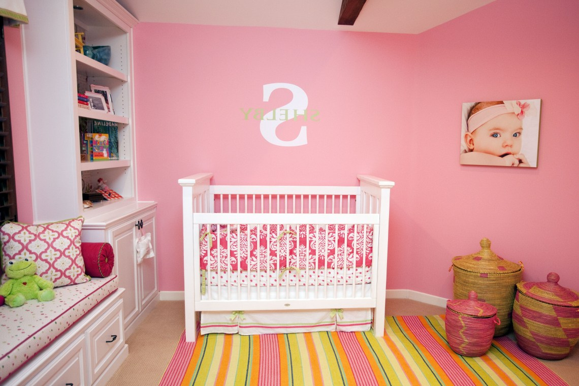 Design Reveal Bold And Bright Girls Nursery