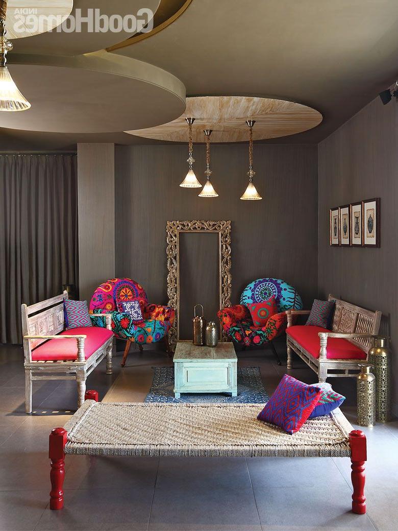 Designer Shantanu Garg Contemporary Living Room Design