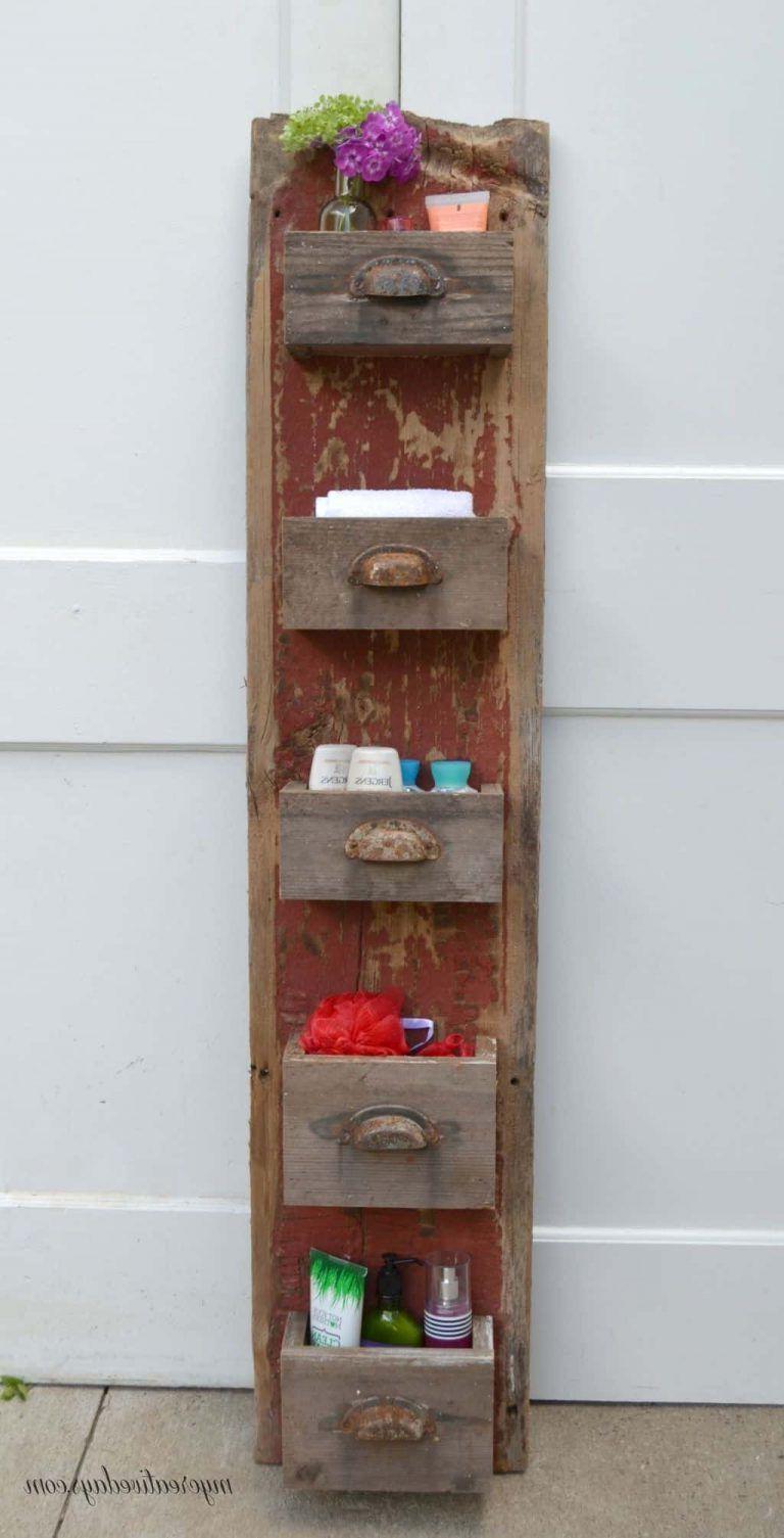 Diy Barn Wood Wall Organizer Barn Wood Crafts Barn Wood