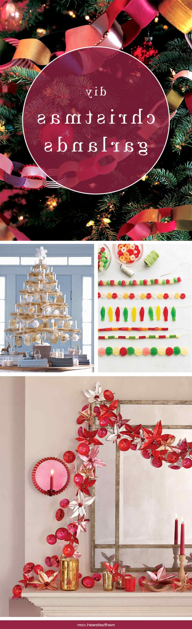 Diy Christmas Tree Garland Ideas To Personalize Your