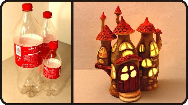 Diy Fairy House Lamp Using Coke Plastic Bottles Viral