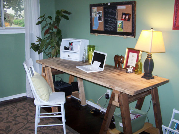 Diy Office Desk Ideas Rustic Crafts Chic Decor