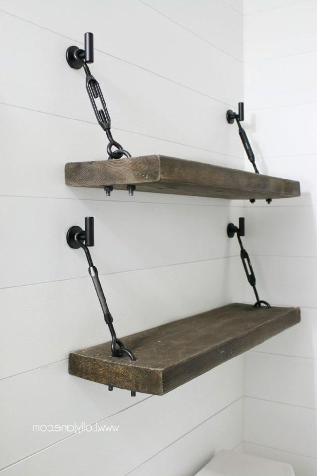 Diy Turnbuckle Shelf A Great Bathroom Addition Lolly