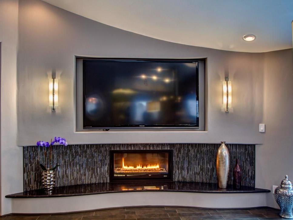 Dream Home 2016 Pool Contemporary Gas Fireplace
