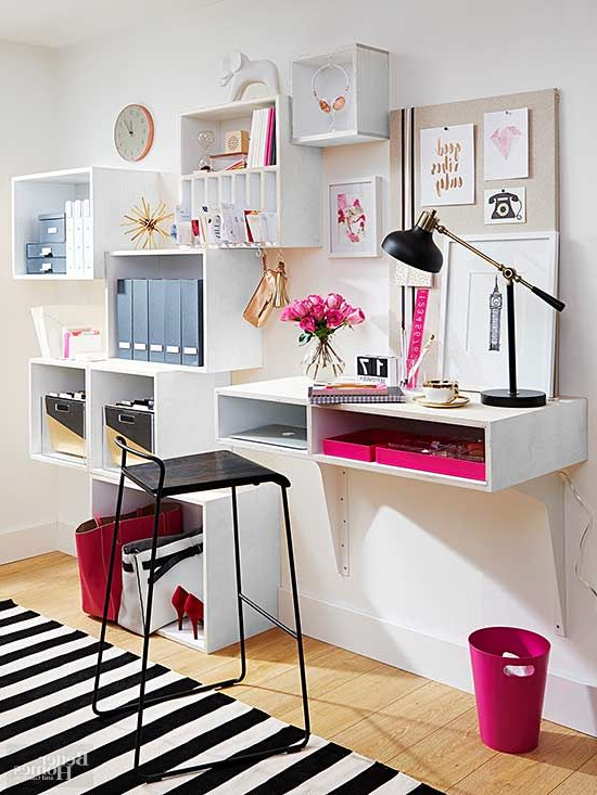 Dream Office From A Blank Wall Home Office Design Home