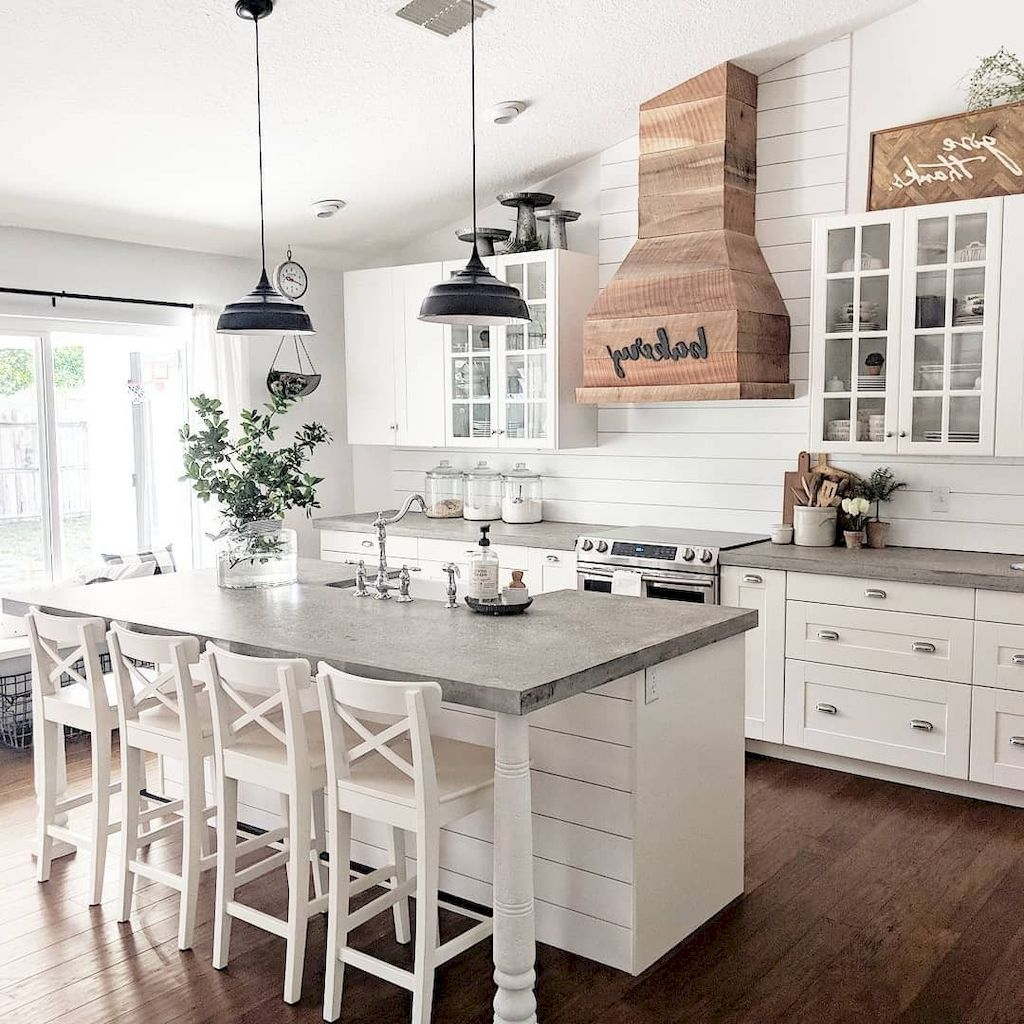 Easy Guides For Farmhouse Kitchen Designs Farmhouse