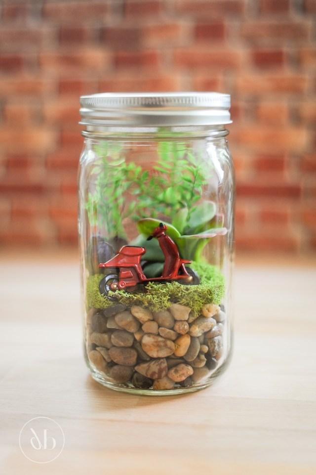 Easy Mason Jar Terrariums Oh My Creative