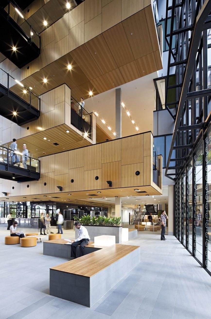 Ecosciences Precinct Interior Modlar Atrium
