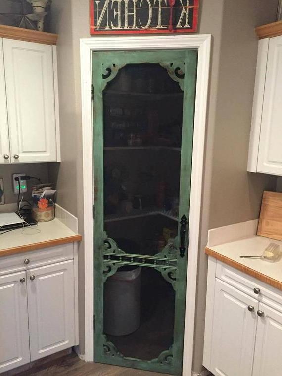Elegant Antique Vintage Pantry Kitchen Home Decor