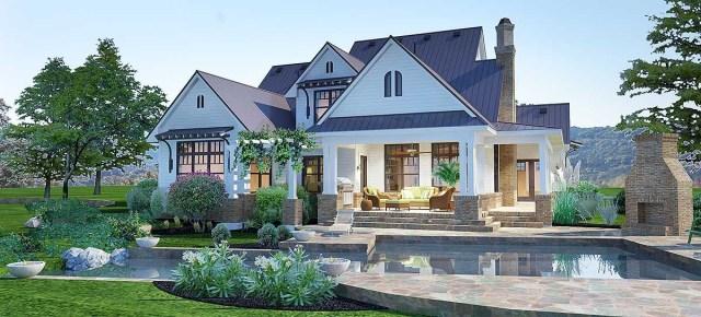Elegant Farmhouse Living Modern Farmhouse Exterior