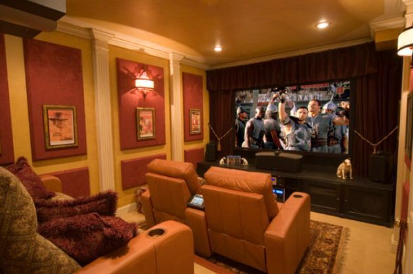Elegant Home Theatre Small Home Theaters Home Theater