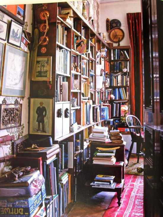Ethnic Cottage Decor Ecd Decorating With Books