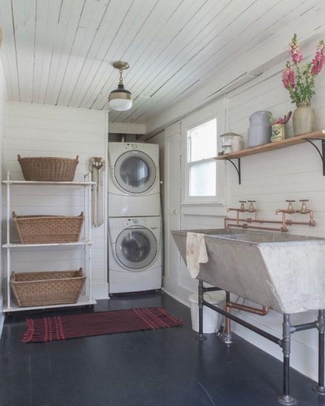 European Farmhouse Style And Interior Ideas 22 Laundry