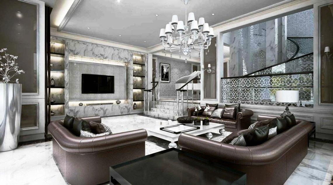 Extraordinary Luxury Living Room Ideas Which Abound With
