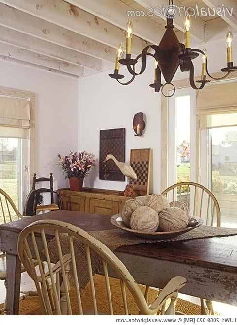 Farmhouse Interior Early American Decor Inside This