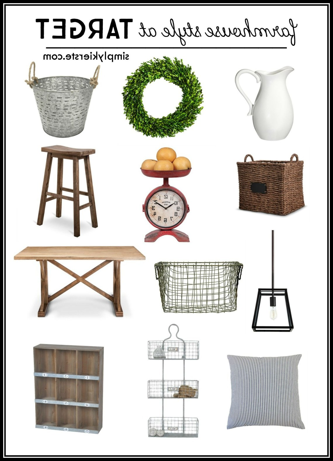 Finding Farmhouse Style At Target Target Home Decor