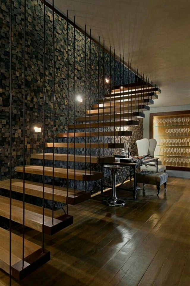Floating Stairs 517 Decorathing