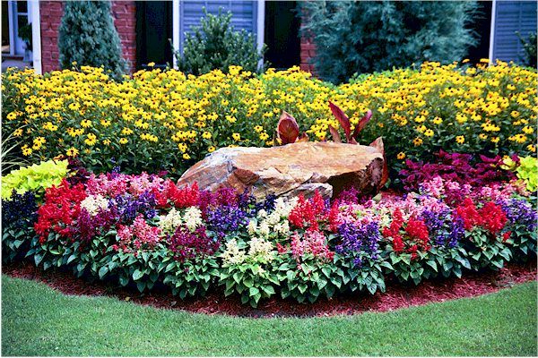 Flower Bed For Front Yard Flower Beds Outdoor Garden