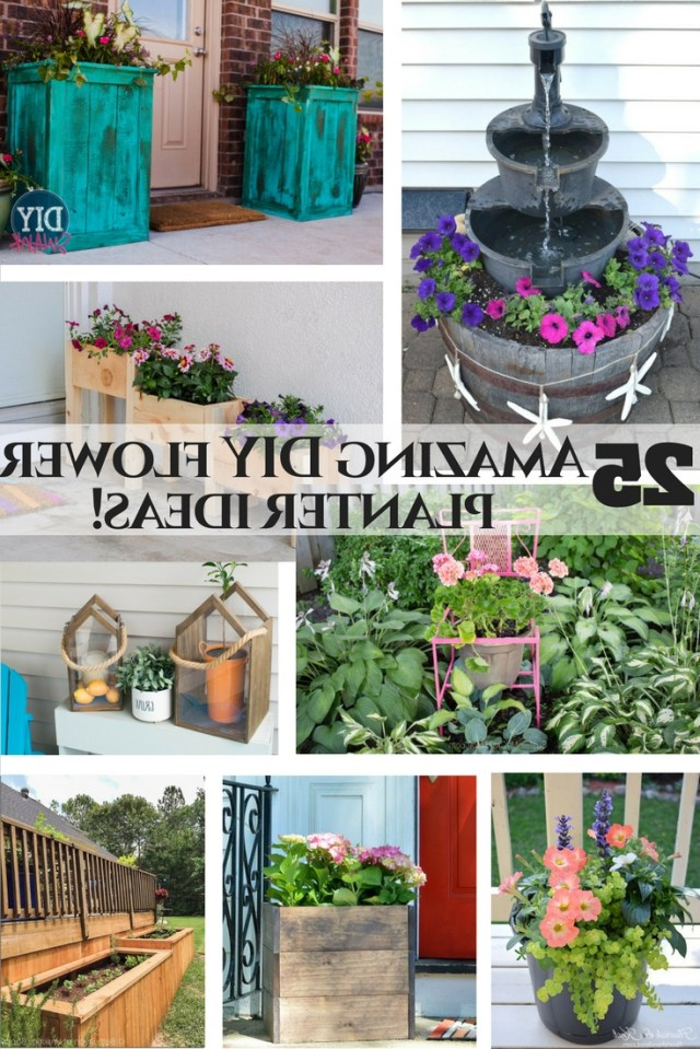 Flower Planter Planning 25 Amazing Outdoor Planter Ideas