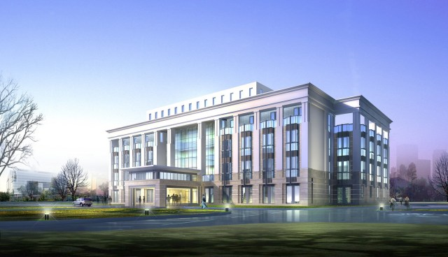 Free Photo Modern Office Building Apartment Image
