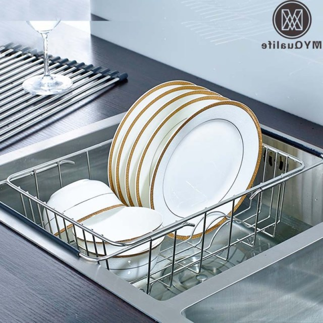 Free Shipping Kitchen Stainless Steel Holder Dish Rack