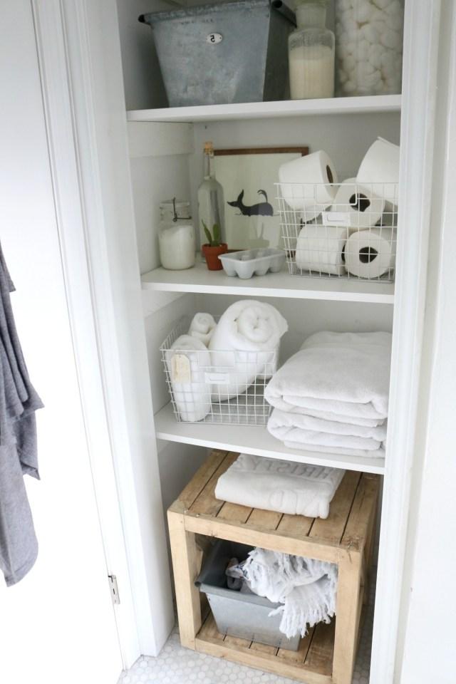 Friday Favorites Starts With Bathroom Storage Solution